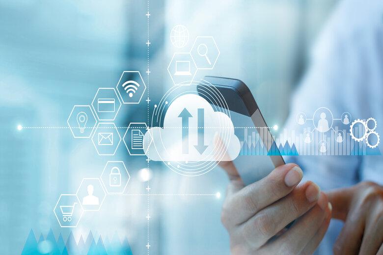 technology digital cloud