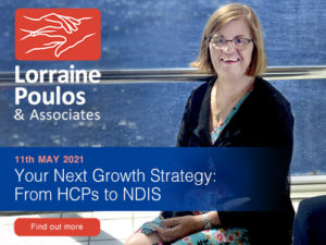 Your next growth strategy: From HCPs to NDIS @ Online
