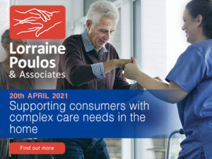 Supporting consumers with complex care needs in the home @ Online
