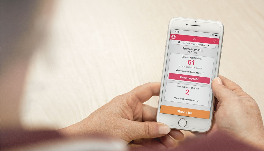 A South Australian aged care provider is using a digital staff referral platform to attract workers as it gears up for an anticipated increase in the number of home care packages.